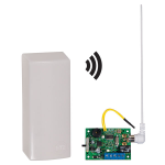 Safety Technology International, Inc. - Wireless Mail Alert® with Single Channel Slave Receiver - STI-34209
