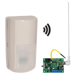 Safety Technology International, Inc. - Wireless Outdoor Motion Detector Alert with Single Channel Slave Receiver - STI-34759