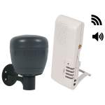 Safety Technology International, Inc. - Wireless Driveway Monitor (battery powered) with Voice Receiver - STI-V34150