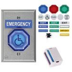"Safety Technology International, Inc. - 2"" Universal Button with Latching Timer - UB-2-LTUL"