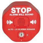 Safety Technology International, Inc. - Alarma de Puerta Multifunción Exit Stopper® - STI-6400-ES