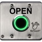 Safety Technology International, Inc. - NoTouch® Stainless Steel IR Switch, US Double-Gang, OPEN - NT-SS202-EN