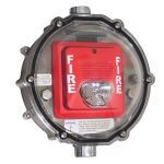Safety Technology International, Inc. - Stopper® Dome Heated Enclosure for Strobe Only Type 4X Hazardous Locations - STI-1229HTR-HAZ