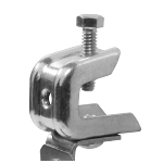 Cablofil® - Angled Clip Pressed Beam Clamp up to 1/2""