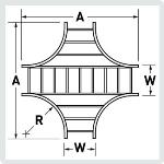 Cablofil® - HX - Horizontal Standard Cross