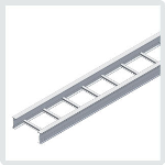 "Cablofil® - 4"" Itray Aluminum Straight Sections"