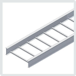 "Cablofil® - 6"" Itray Aluminum Straight Sections"