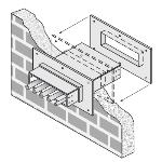 Cablofil® - FWPS - Fire Wall Penetration Sleeve