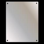 Ketcham - SSF-1630 Wall Mount Stainless Steel Mirror