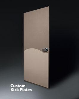 Custom Kick Plates Door Protection