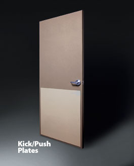 Attirant Kick/Push Plates Door Protection