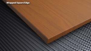 Wrapped Square Edge Acrovyn Wall Panel