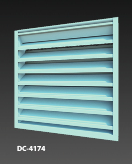 DC-4174 Drainable Louver