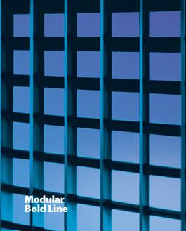 MODULAR BOLD LINE - Geometric Grilles
