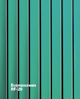 ECONOSCREEN RF-20 Vision Barriers