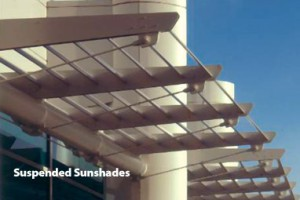 Suspended Cantilevered & Suspended Sunshades