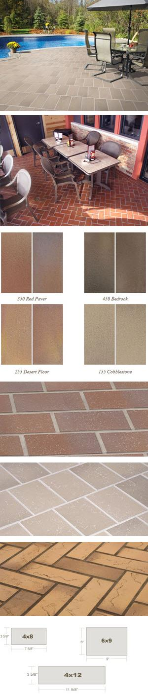 Down To Earth® - Flashed Quarry Tile with Texture