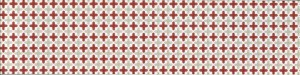 Ceramic Tile - Bon Ton Grigio Rosso 26 Decoro