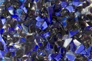 Terrazzo Aggregates - Midnight Blues Glass