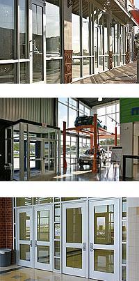 Standard Duty Aluminum Entrance Doors & Frames - Series 250, 400 & 550