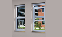 Single Hung Aluminum Windows - Series 8000