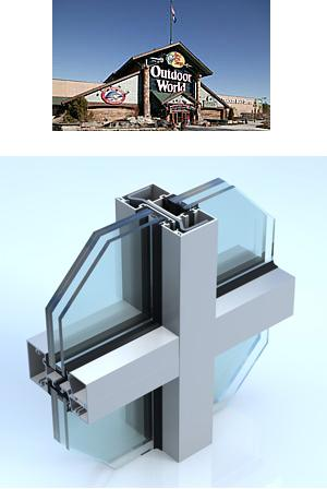 Thermal Impact Resistant Storefront Systems - Series IT600