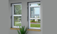 Hurricane Resistant Single Hung Window - Series IW8000