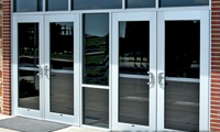 Thermal Entrances: Series 250-T, 400-T, & 550-T Thermal Entrance Doors