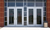 High Performance Thermal Entrances: Series 650-T, 700-T, & 750-T Thermal Entrance Doors