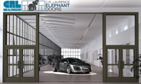Entrances: Series E1200 Elephant Door