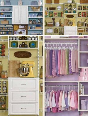 Wood Closet & Storage Systems