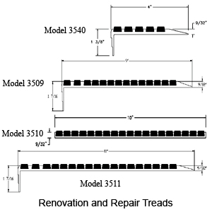 ULTRA 3500 Series Repair Treads