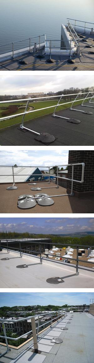 KeeGuard Roof Edge Railing System