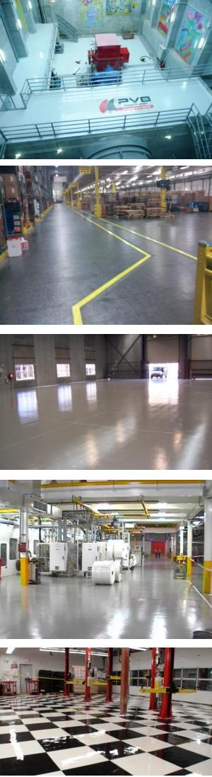 High Performance Industrial Floor Coatings