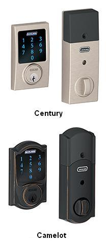 Touchscreen Deadbolt with Alarm