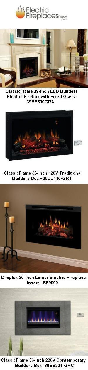 Built-In Electric Fireplaces