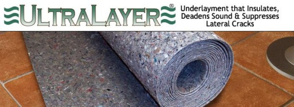 UltraLayer Insulating Underlayment