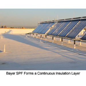 BAYTEC® SPF Silicone Roof Coatings