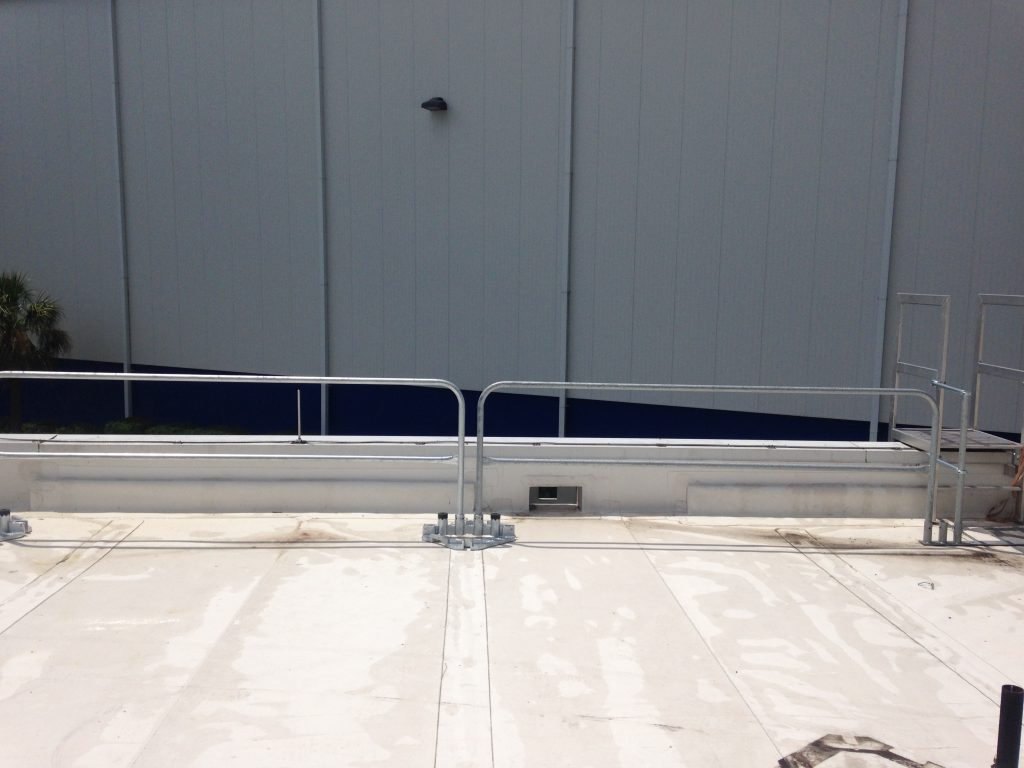 Ballasted Guardrail Systems - Ballasted Guardrail Systems