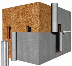 rFOIL™ 3800 Series Reflective House Wrap
