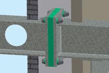 Fabreeka-TIM® Structural Thermal Break, Thermal Insulation Material