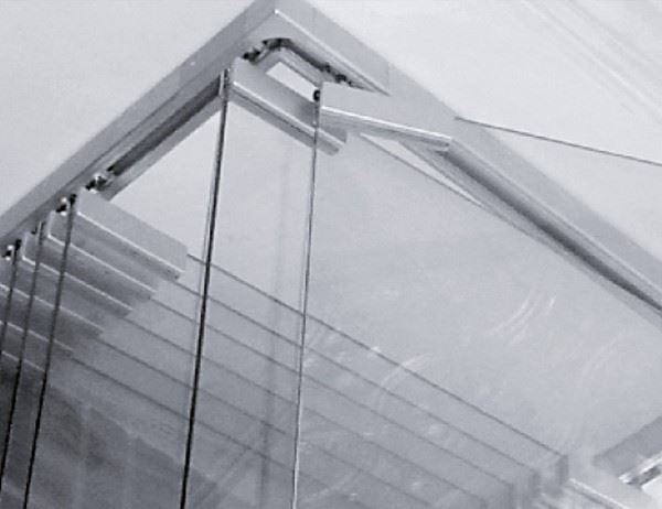 Tension Truss - STRUCTURAL GLASS WALL - 446-2-90