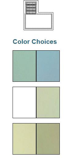 Model: 733 Fiberglass Baptistries