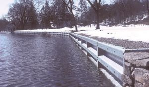 Anchor Wall™ Shoreline Protection System