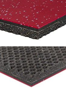MondoArmor - Weight Resistant Vulcanized Rubber Flooring