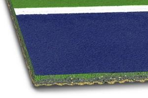 Mondoten - Synthetic Indoor Tennis Court System