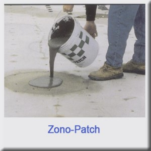 ZonoPatch for Lightweight Insulating Concrete