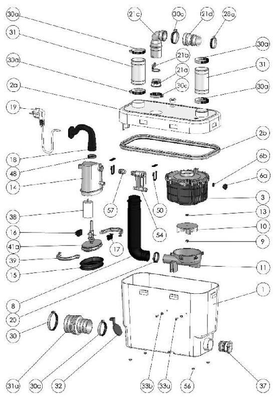 sanivite u00ae drain pump  u2013 saniflo