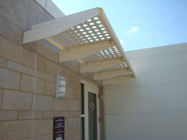 Perforated Metal Sun Shades - Perforated Metal Sun Shades