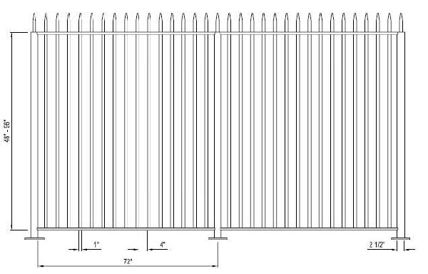 Aluminum Picket Fence System - Aluminum Picket Fence System